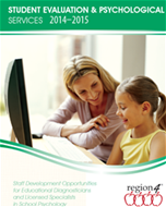 Student Evaluation and Psychological Services Catalog 2014-2015